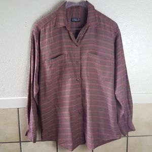 Patagonia button up lightweight flannel shirt